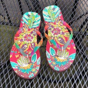 Vera Bradley beach sandals